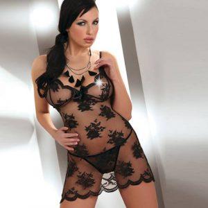 Corsetti Midori Fishnet Night Dress