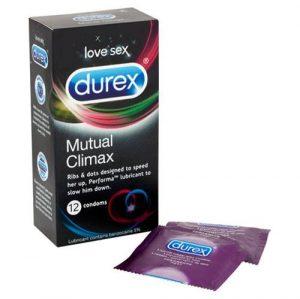 Durex Mutual Climax 12 Pack Condoms