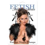 Fetish Fantasy Series Feather Nipple Clamps