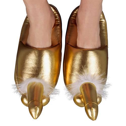 Golden Penis Slippers
