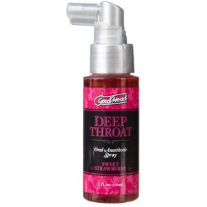 Good Head Deep Throat Spray Strawberry