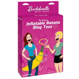 Inflatable Banana Ring Toss