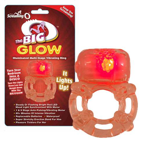 Screaming O The Big O Glow Vibrating Cock Ring