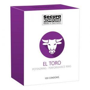 Secura Kondome El Toro Performance Ring x100 Condoms