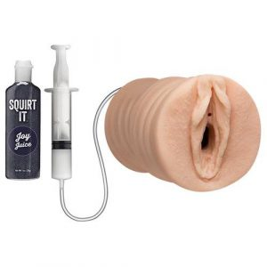 Squirting Pussy Stroker with Joy Juice Vanilla