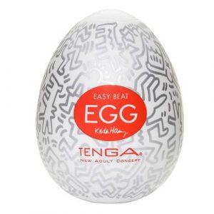 Tenga Keith Haring Party Egg Masturbator