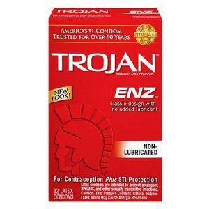 Trojan Regular Condoms 12 Pack