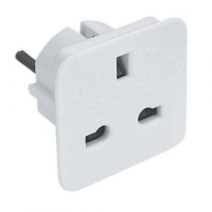 UK to EU Plug Adaptor