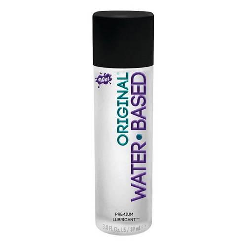 Wet Original Water Based Gel Lubricant 3 Ounce
