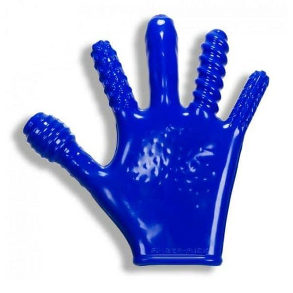 Oxballs Finger Reversible JO Penetration Glove Blue