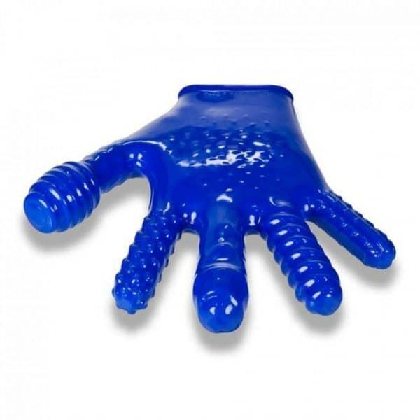 Oxballs Finger Reversible JO Penetration Glove Blue Detail