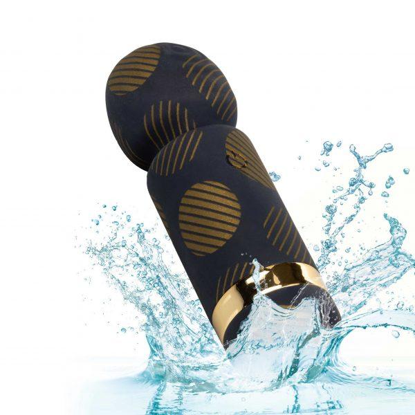 Naughty Bits Lit Clit Teenie Weenie Wand Vibrator waterproof