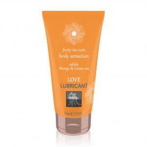 Shiatsu Love Lubricant Edible Mango And Green Tea 75ml
