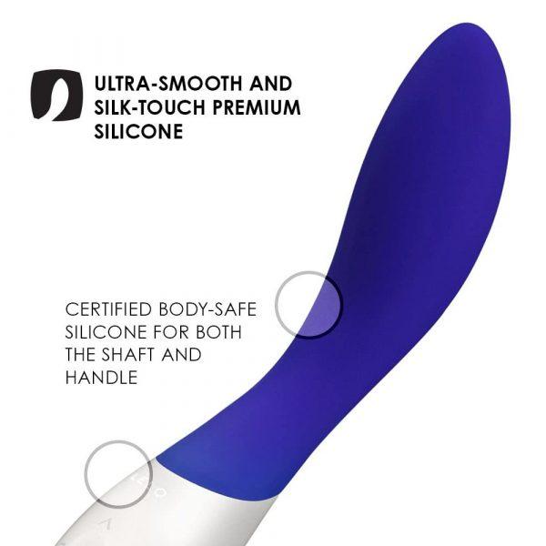 Lelo Mona Wave Midnight Blue Vibrator 3