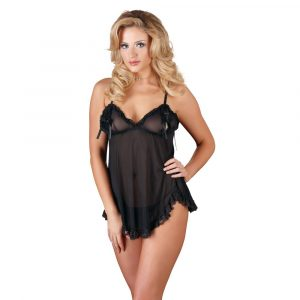 Cottelli Open Babydoll And String Back