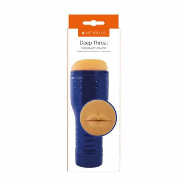Deep Throat Mouth Torch Male Masturbator Packaged