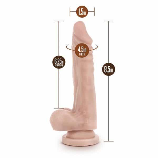 Dr. Skin Realistic Cock Stud Muffin Realistic Dildo Dimensions