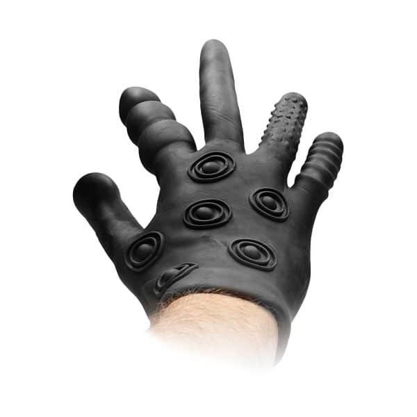 Silicone Stimulation Glove Back