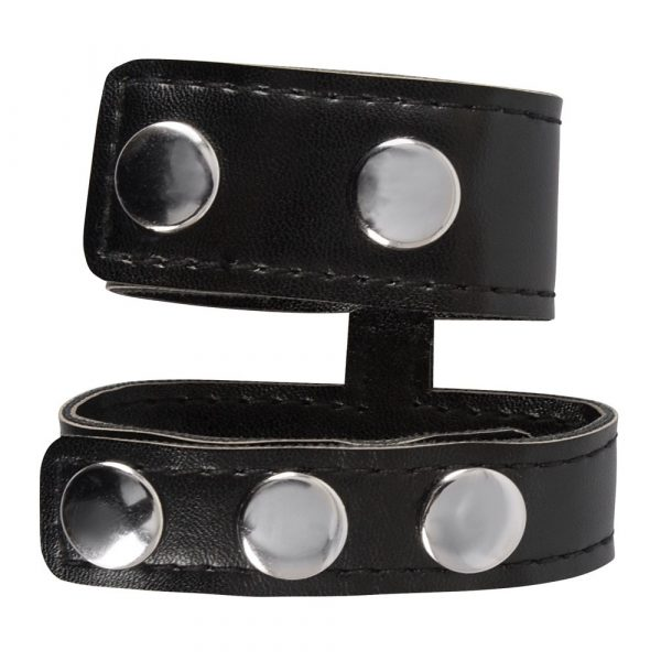 Rebel Mens Gear Cock Strap With Ball Stretcher 1