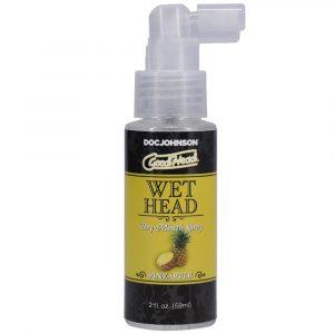 Good Head Wet Head Dry Mouth Spray (Pineapple 59ml)