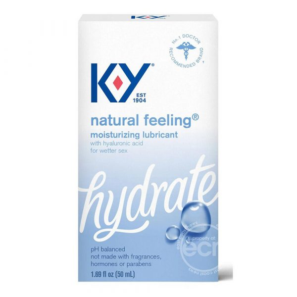 KY Hydrate Natural Feeling Lube 50ml - Packaged