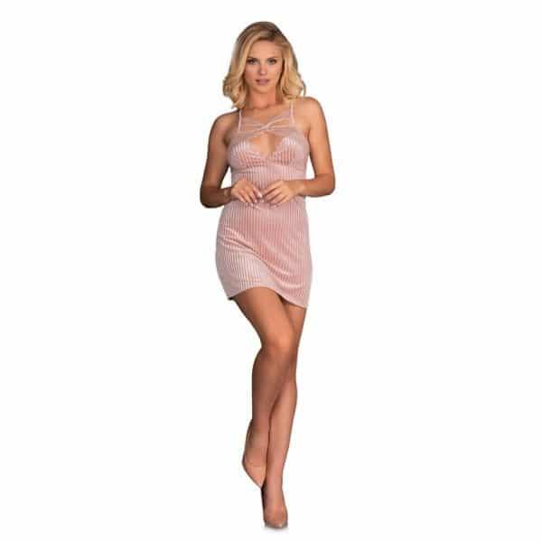 Corsetti Thorjako Nightdress And Thong (Pink)