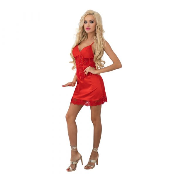 Corsetti Vrogrann Dress (Red)